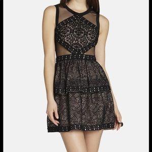 BCBG MAXAZRIA Black Cocktail Dress Size 06